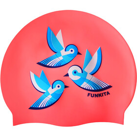 Funkita Silicone Swimming Cap, swallowed up